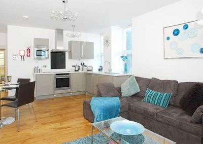 The living area @ 10 At the Beach, Torcross