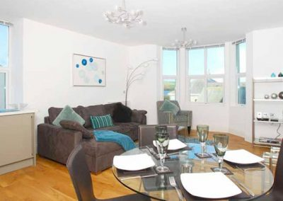 The dining area @ 10 At the Beach, Torcross