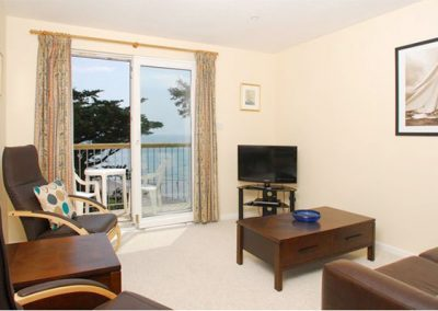 The living area @ 14 Mount Brioni, Seaton offers outstanding views