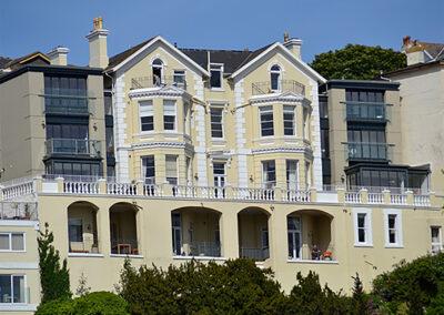 Outside 16 Astor House, Torquay