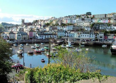 Brixham harbour is just a few minutes walk from Dolphin Court