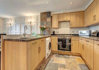The kitchen @ 6 Torwood Gables, Torquay