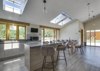 The kitchen at Alvington Farm, West Alvington