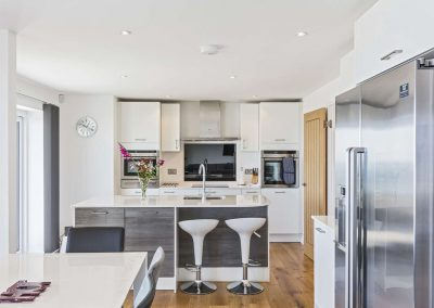 The kitchen at Boscarne, St Ives