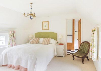 Bedroom #1 at Bratton Mill Cottage, Bratton Fleming