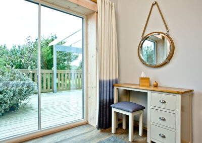 The bedroom at Broadpath, Great Field Lodges, Braunton