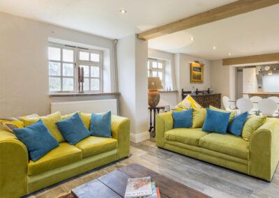 The living area at Colleton East Wing, Rackenford