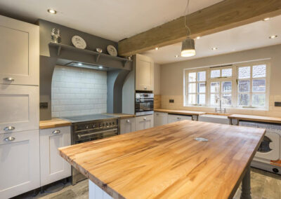 The kitchen at Colleton East Wing, Rackenford
