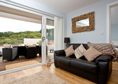 The open plan living and dining area @ Dunlin 1, The Cove, Brixham
