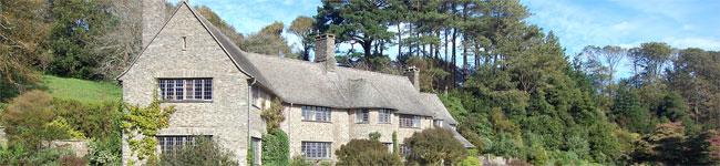 Grand living at Coleton Fishacre near Dartmouth