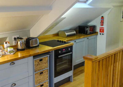 The kitchen at Harbour Bridge, Polperro