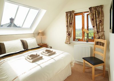 Bedroom #1 at Long Meadow Barn, Down St Mary
