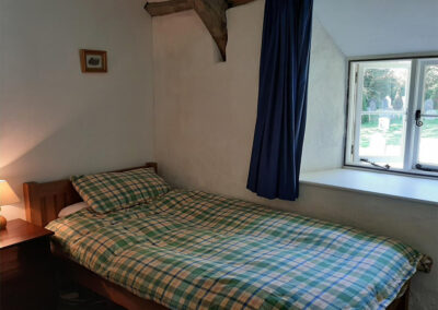 Bedroom #3 at Old Church House, Brayford