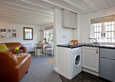 The kitchen at One Greenway, Kingsand