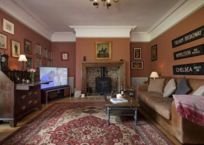 One of several living areas at Raleigh Estate, Combe Raleigh