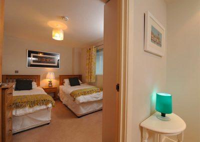 Bedroom #2 at Sunrise, Nassau Court, Westward Ho!
