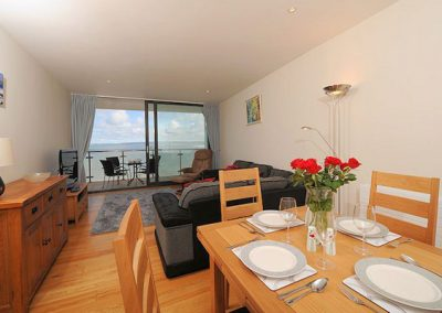 The open plan Living & dining area @ Tidal Bay, Horizon View, Westward Ho!